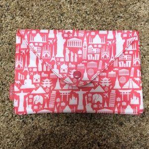 Handbags - Pink button Bag